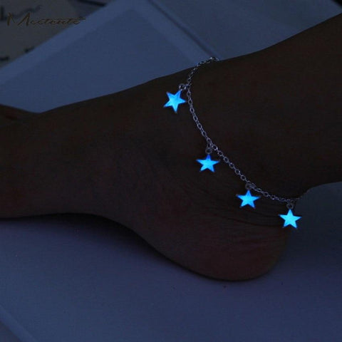 Ibiza Boho Style 💫 Glow in the Dark Beach Anklet