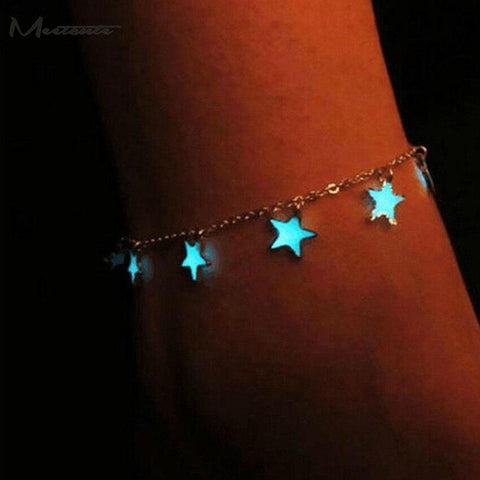 Glow in the Dark Beach Anklet-Te Sanandum