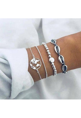 Bohemian Bracelet Set Bangle Boho Jewelry | Boho-Chic | Hippie Style