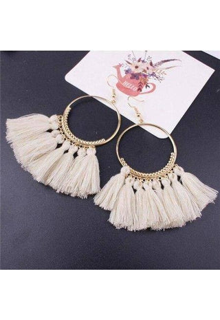 Vintage Boho Tassel Earrings | Boho-Chic | Hippie Style