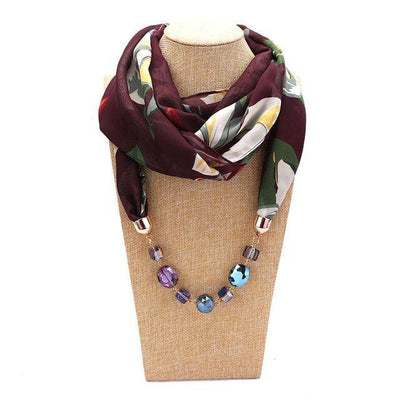 Boho scarf necklace | Boho-Chic | Hippie Style