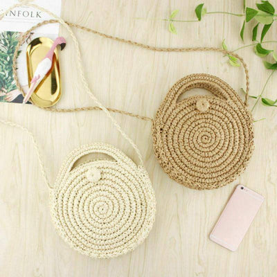 Women's Straw Bag Woven Bag | Boho-Chic | Hippie Style