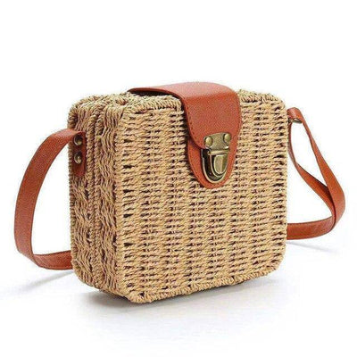 Womens Straw Bag | Boho-Chic | Hippie Style