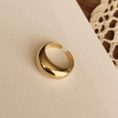 Adjustable silver and gold ring | Boho-Chic | Hippie Style