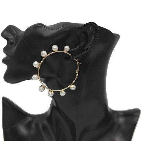 Ibiza Boho Style 💫 Elegant hoop earrings