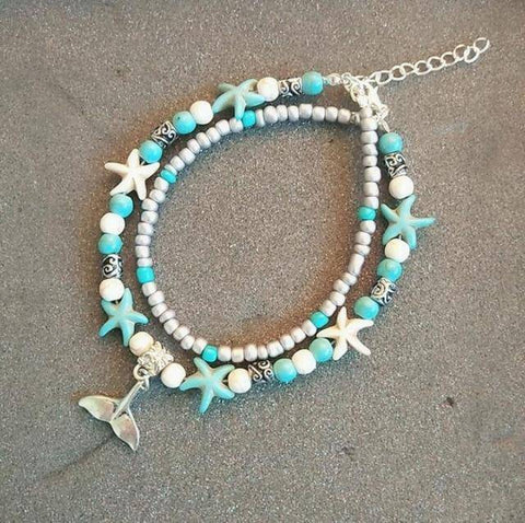 Ibiza Boho Style 💫 Anklets for Women with bell
