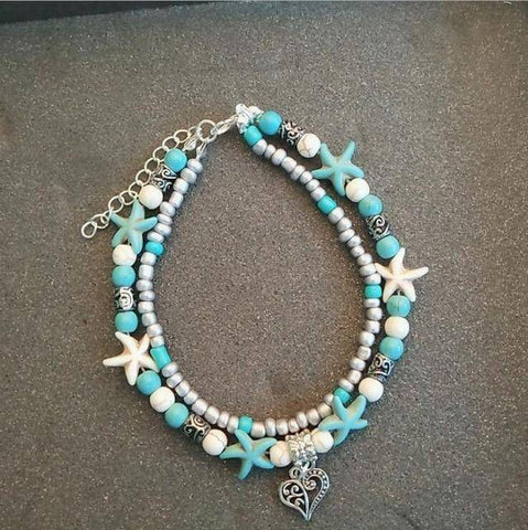 Image of  Ibiza Boho Style 💫 Anklets for Women with bell