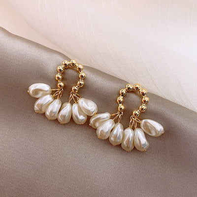 Baroque pearl earrings | Boho-Chic | Hippie Style