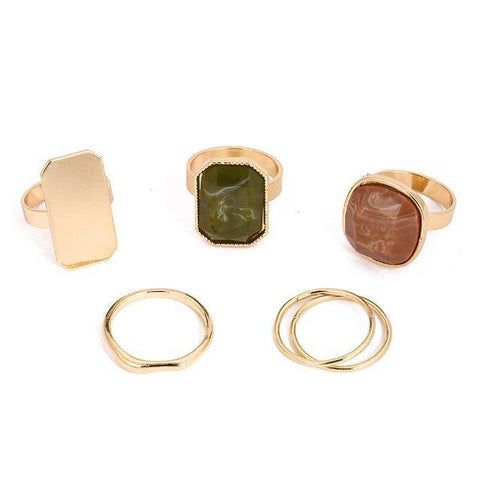 Ibiza Boho Style 💫 Metal fashion rings