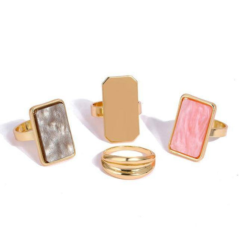 Image of  Ibiza Boho Style 💫 Metal fashion rings