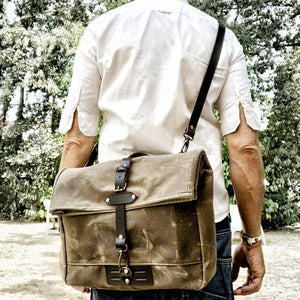 Ibiza Boho Style 💫 Men's retro canvas bag