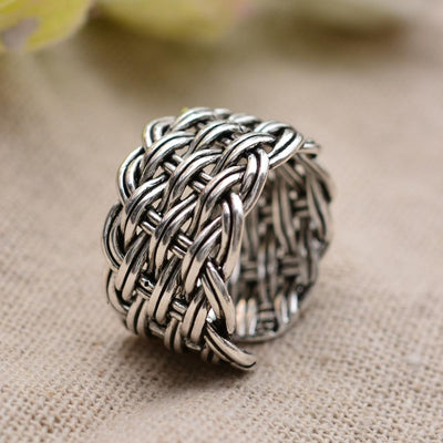 Infinity knot adjustable ring | Boho-Chic | Hippie Style