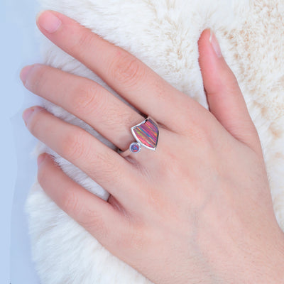 Colorful opal ring | Boho-Chic | Hippie Style