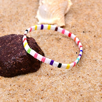 Colorful beaded bracelet | Boho-Chic | Hippie Style