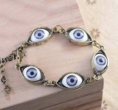 Ibiza Boho Style 💫 Greek evil eye bracelet
