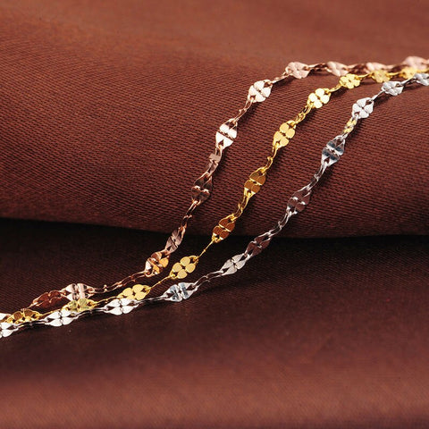 Image of Multicolor rose gold chain