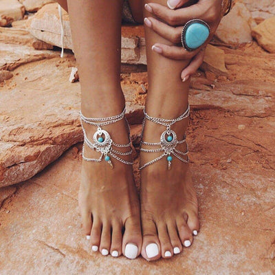 Beaded anklets | Boho-Chic | Hippie Style