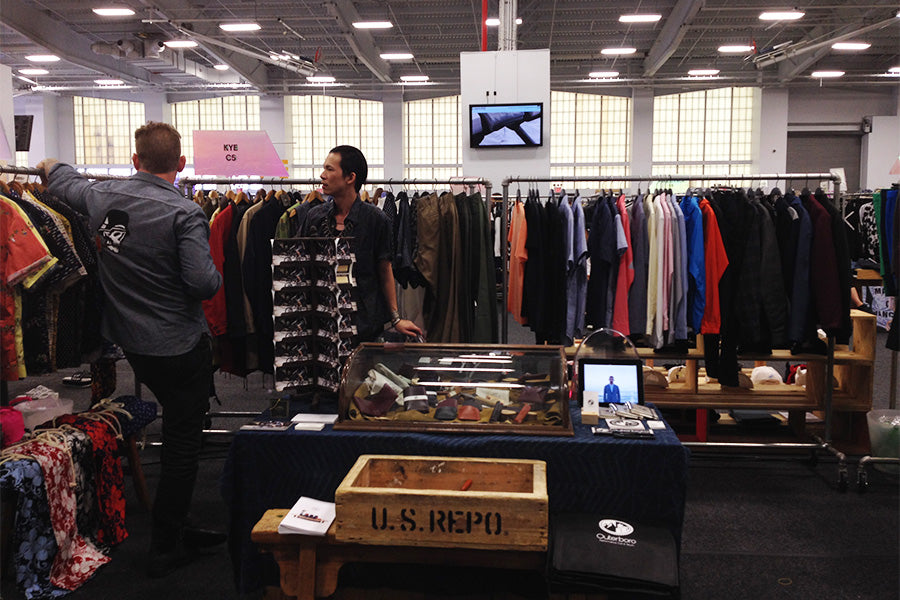 u.s. repo, brujula new york, outerboro at capsule show new york 2014