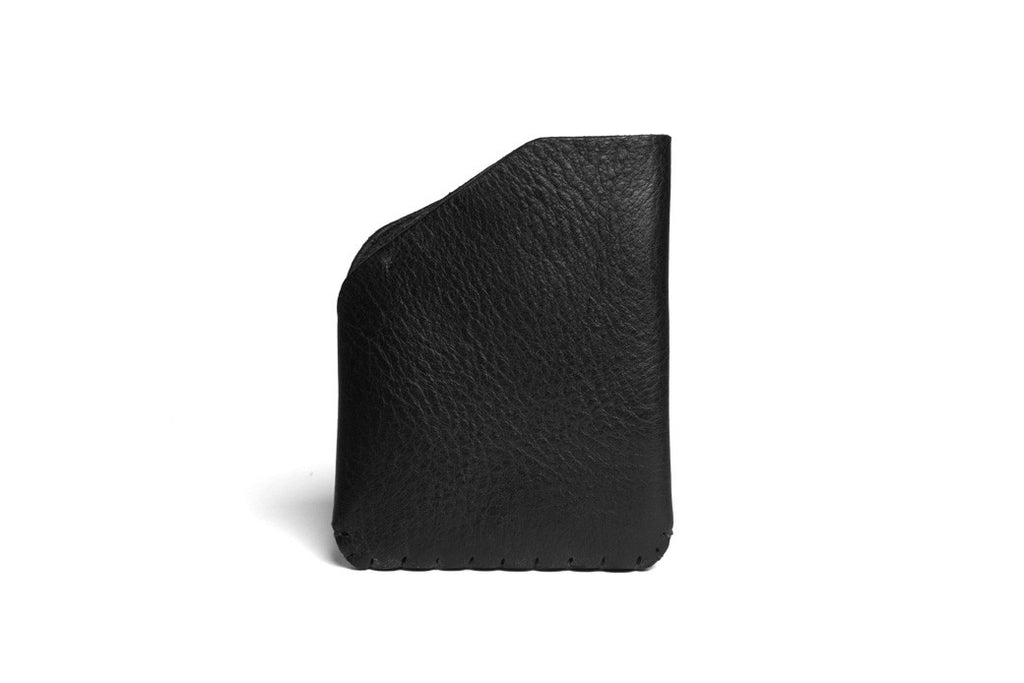 Card Slot Wallet Left Handed Black Front