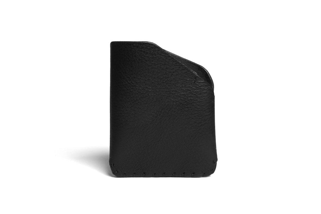 Card Slot Wallet Right Handed Black Front