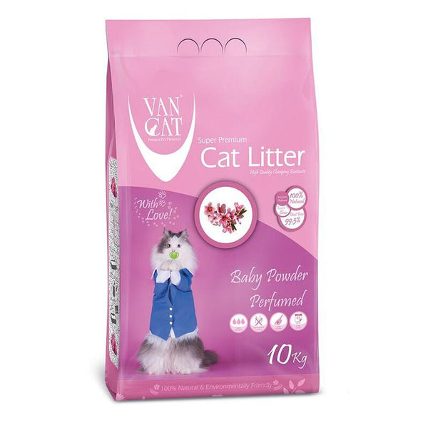 VAN CAT BABY POWDER CLUMPING