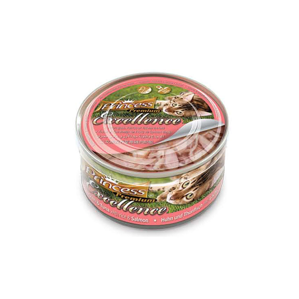 ΚΟΝΣΕΡΒΑΚΙΑ PRINCESS PREMIUM CHICKEN-TUNA-SALMON