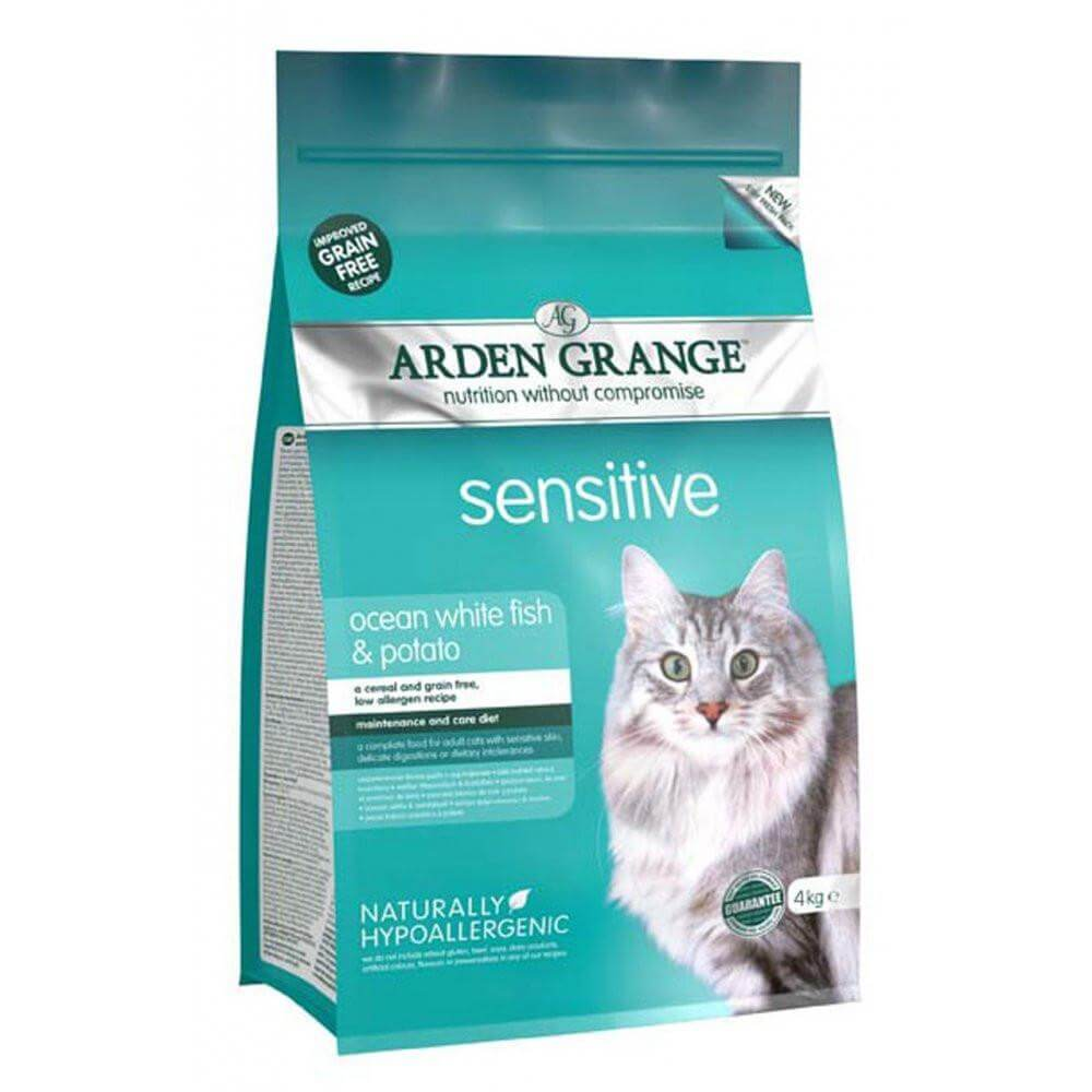 ARDEN GRANGE CAT SENSITIVE FISH & POTATO