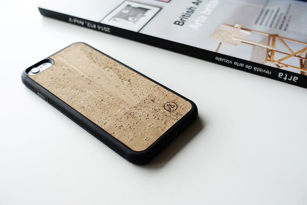 Cork iPhone case / natural