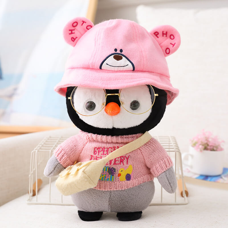 Cute Dress Up Penguin Stuffed Plush Toy For Gifts - KEAIart®