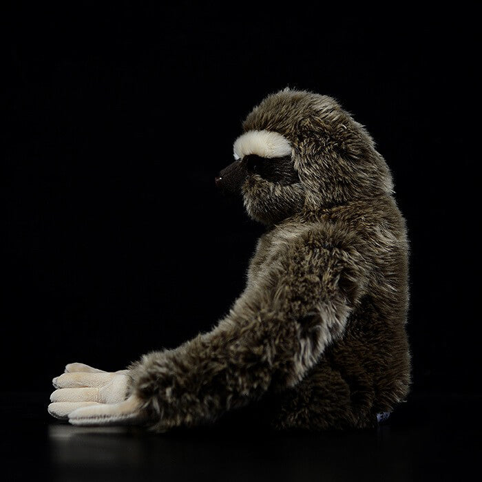 Realistic Two-Toed Sloths Stuffed Animal Toy