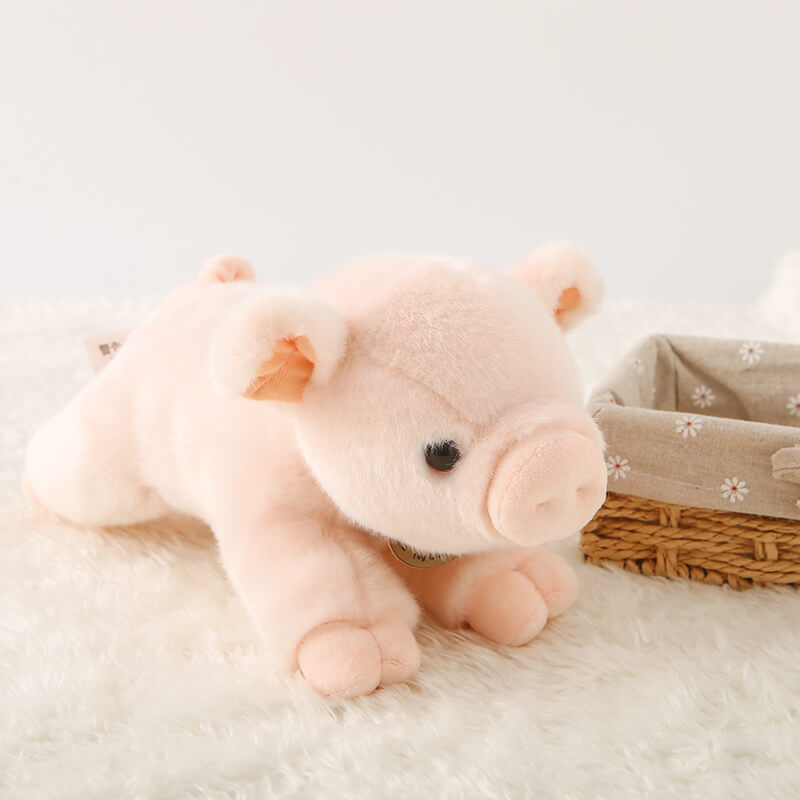 Pink Pig Cute Stuffed Animal Plush Toy Soft Pig Plushies