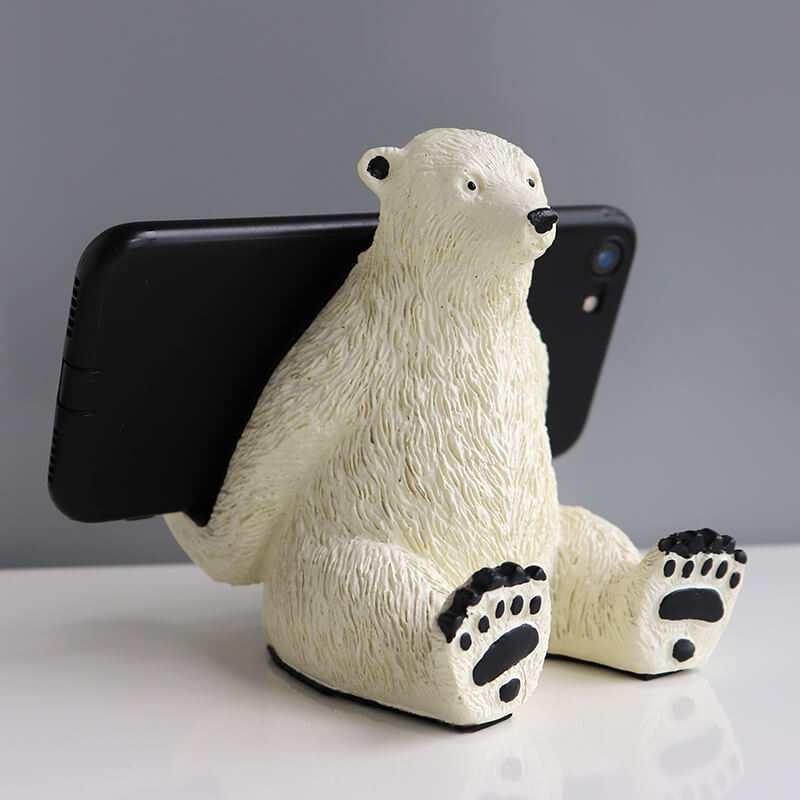 Polar bear Mobile Phone Holder/Phone Stand