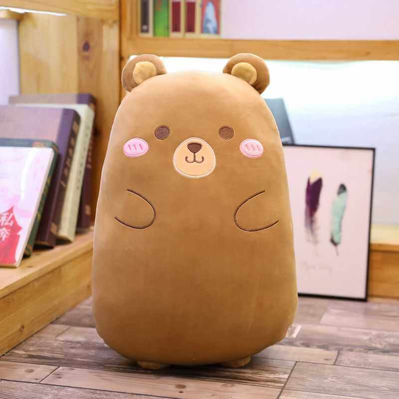 bear plush pillow