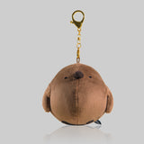 Chubby Plush King Penguin Cub Doll Keychain