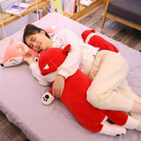 Soft Fox Plush Stuffed Pillow