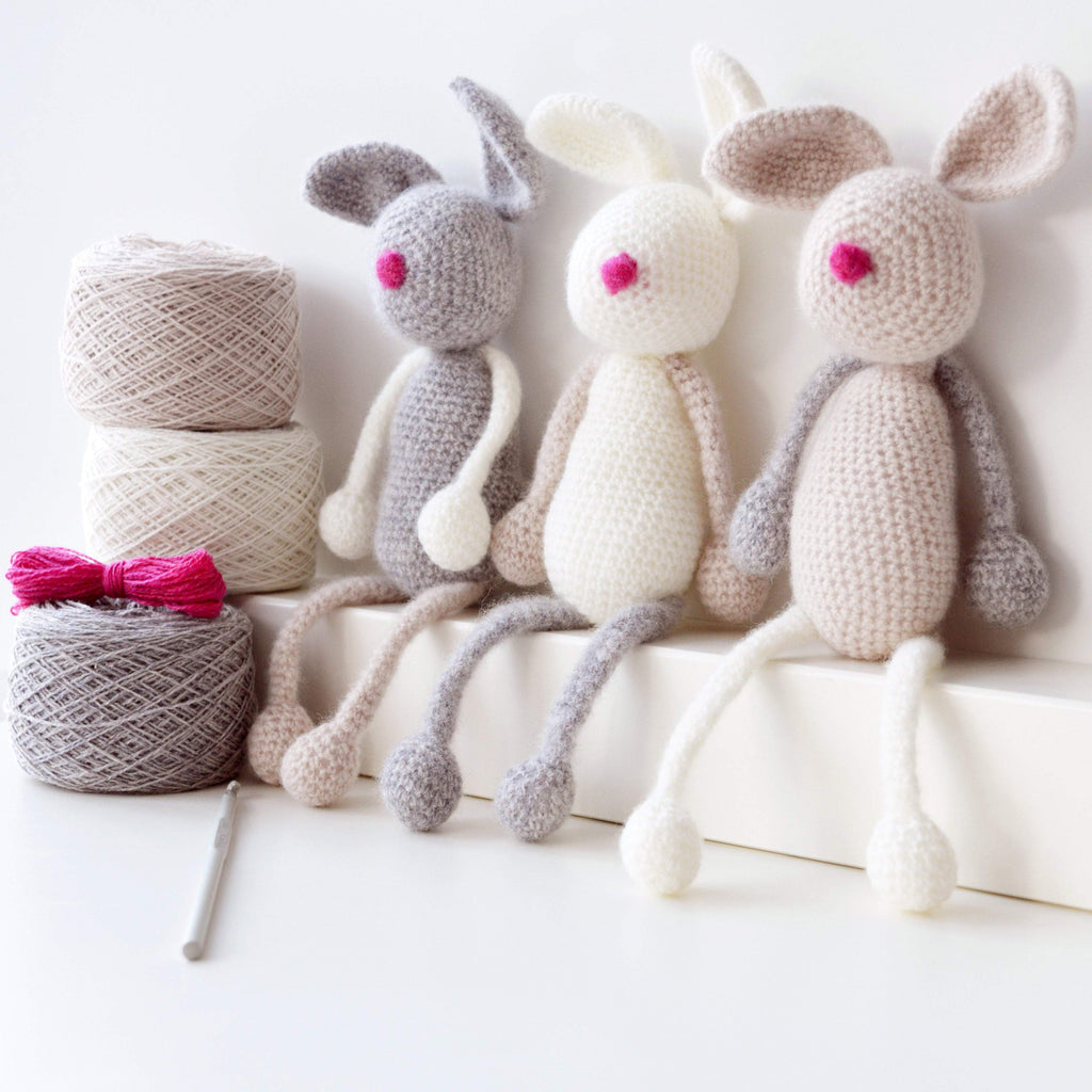 Bunny Family Crochet Kit