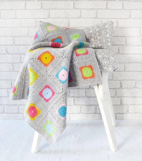 granny square blanket crochet pattern