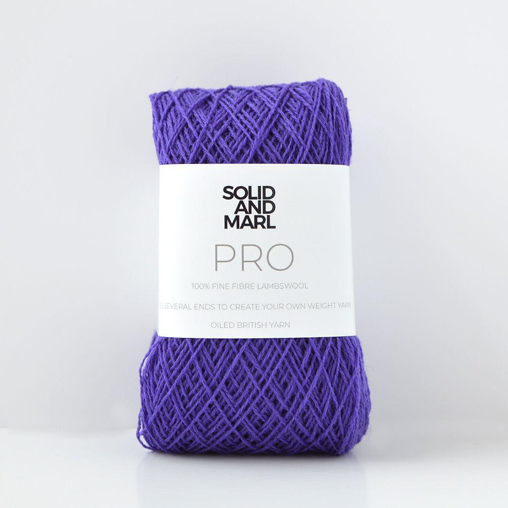 purple crochet yarn lambswool