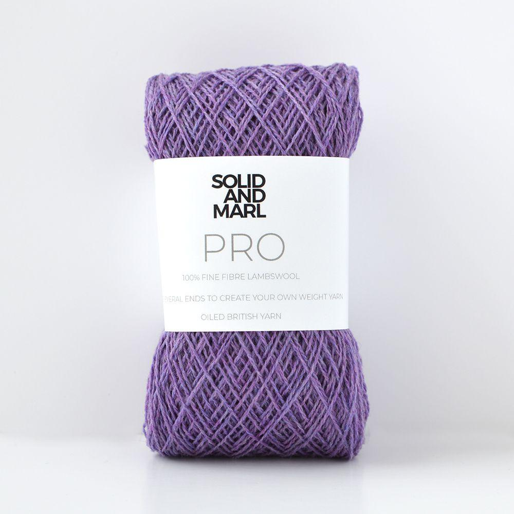soft purple crochet yarn lambswool