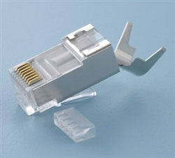 106190 Modular Plug: 8 Position / 8 Conductor CAT6A SHIELDED