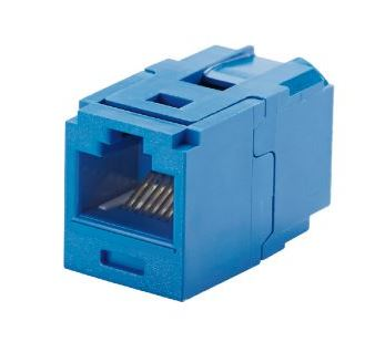 CC688BU, Panduit Coupler Module,Cat6,RJ45,UTP,BU  ( MOQ10 ; Increment10 )