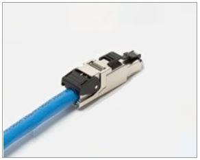 OCCSFP6A RJ45 Modular Plug: OCC, 8 Position / 8 Conductor, CAT6A Shielded - Field Terminable