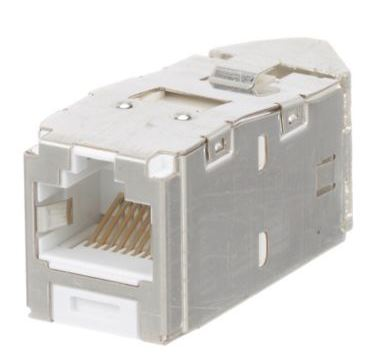 CJSLR688TGWHY, Panduit Mini-Com Cat 6 Left/Right Jack Module, S1  ( MOQ10 ; Increment10 )