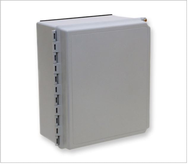 EDC-12P-NH Wall Mount Fiber Box: Corning, accepts Panels, Modules, Splice Trays - Indoor/Outdoor
