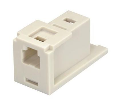 CMMJWH, Panduit Dupl MT-RJ Fiber Adapter Module (WH) (MOQ: 1; Increment of 1)