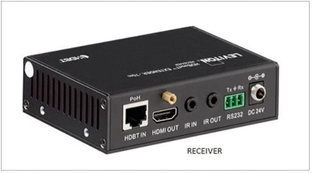 41910-HT0 Extender Kit, Leviton, HDMI over CAT6A, HDBaseT