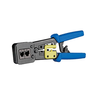 40989-ACT LEVITON EZ-RJ45 Advanced Crimp Tool, Blue