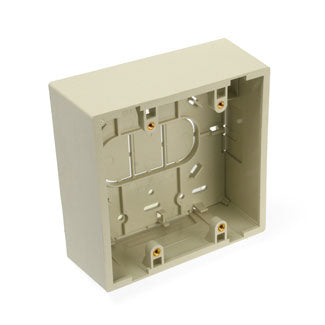 42777-2IA LEVITON Surface-Mount Back Box, Dual Gang, 1.89\