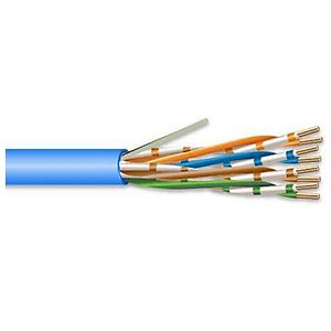 Superior Essex 77-240-2B Series 77, CAT6 Cable, Plenum, 1000 Feet - Blue
