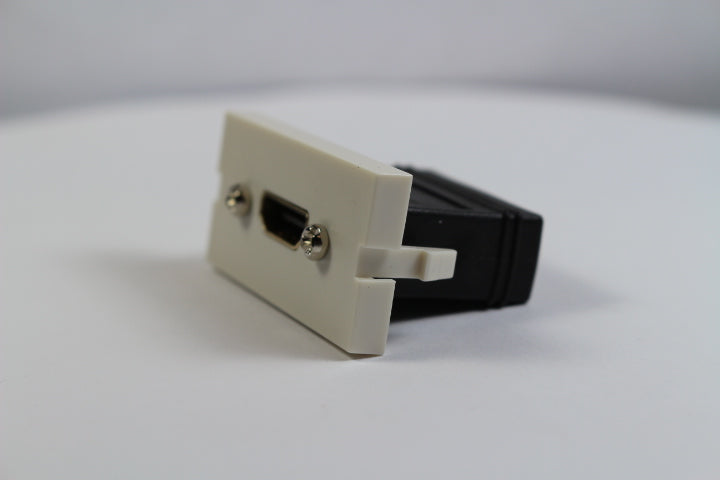 Ortronics OR-60900372 Series II Jack Module HDMI Coupler, Fog (Off) White